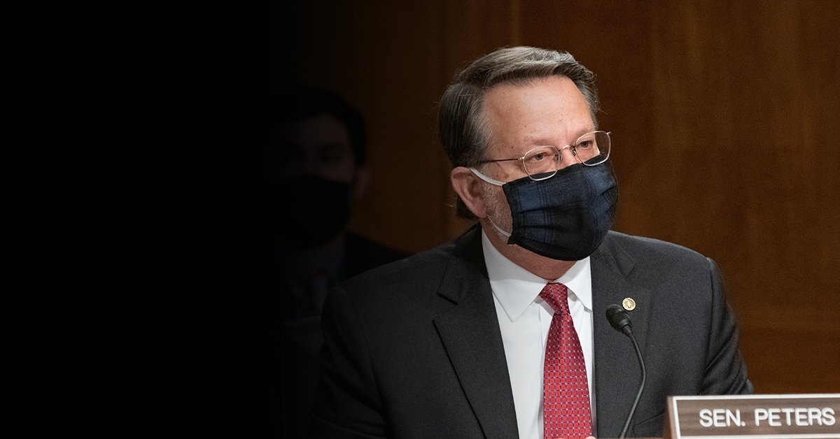 Chairman Peters Outlines Key Priorities for Senate Homeland Security and Governmental Affairs Committee