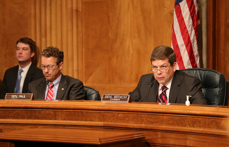 EMDC Chairman Mark Begich and Ranking Member Rand Paul