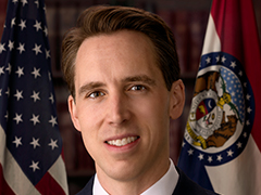 Photo of Senator Hawley,  Josh