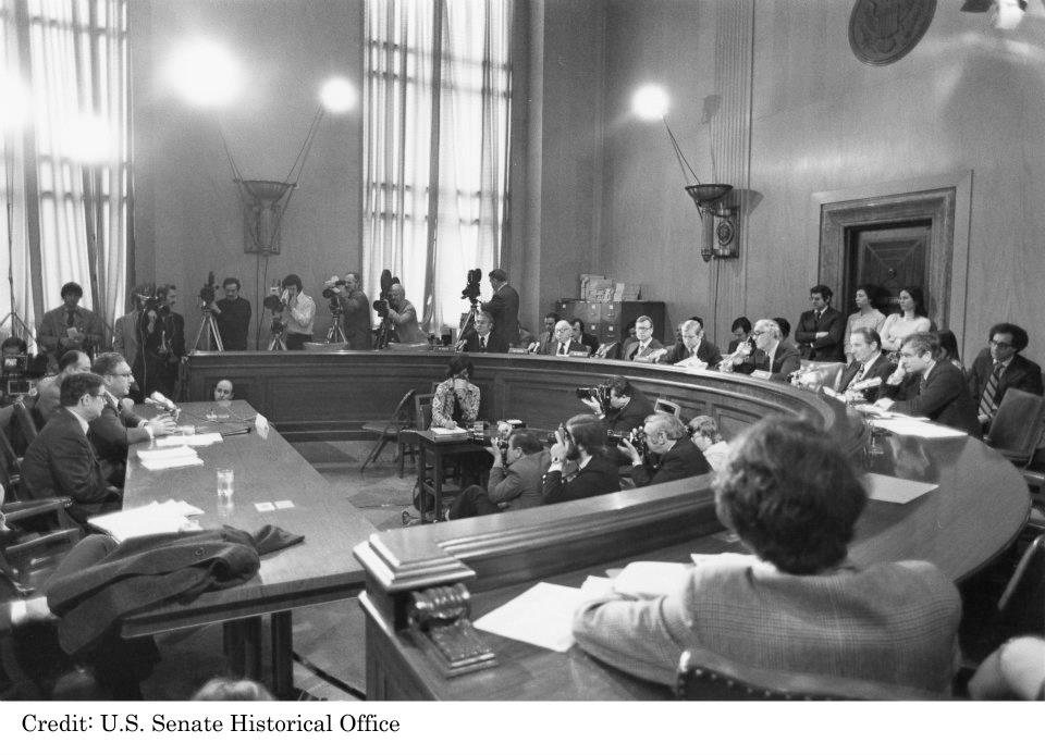 Henry Kissinger Testifies Before the Committee in 1967
