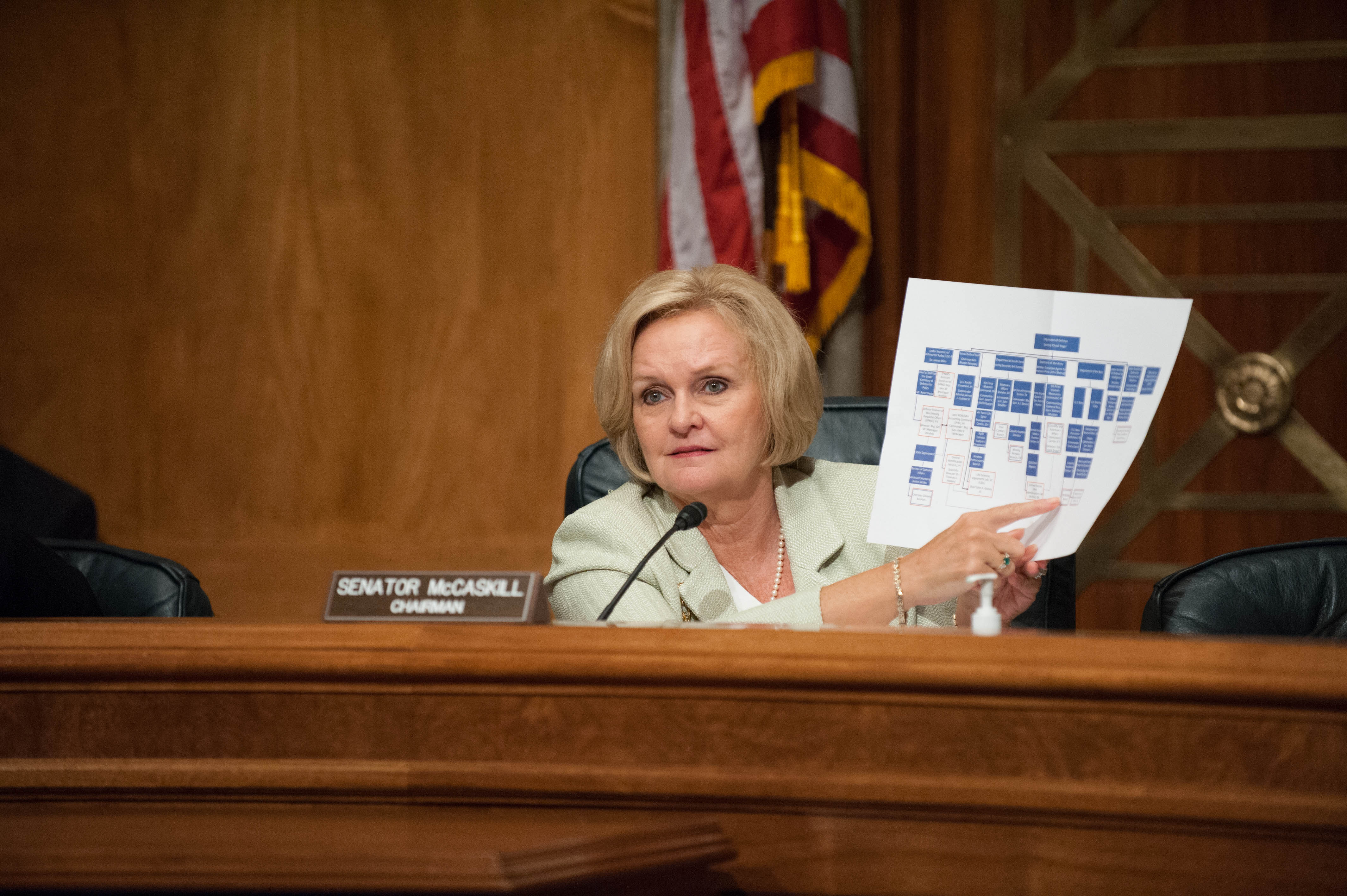 Chairman McCaskill Holds Hearing on Mismanagement of POW/MIA Accounting