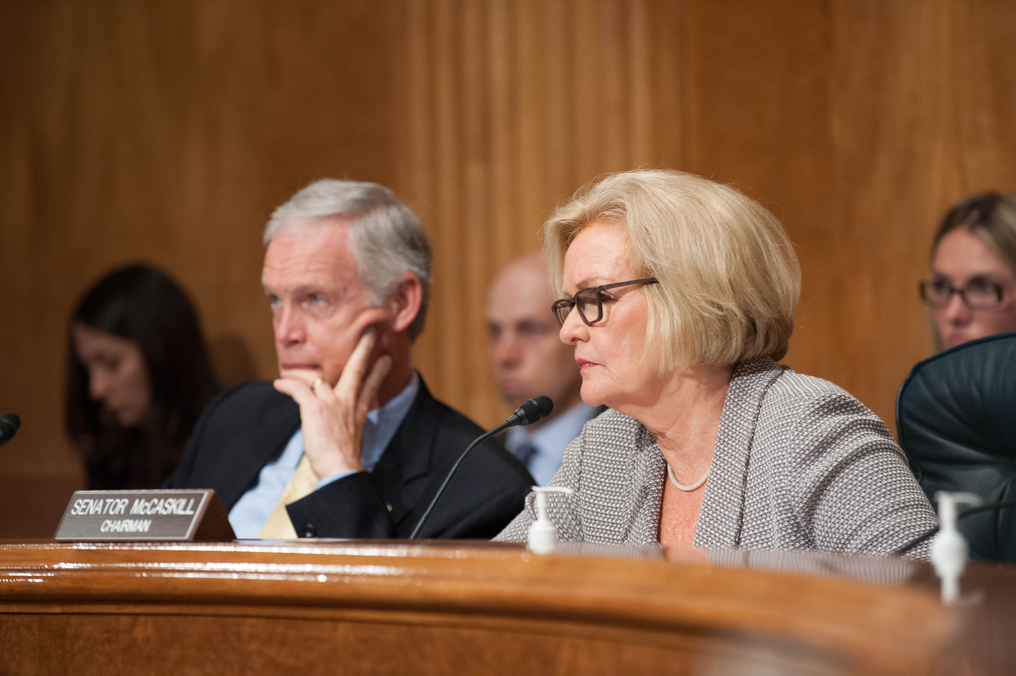 McCaskill Chairs Hearing on Implementation of Wartime Contracting Reforms