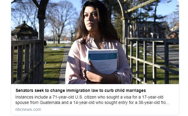 Johnson, Ernst, Cotton Introduce Legislation to Combat Child Marriage Immigration Loophole