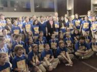 JDRF delegates with Sens. Brown, Collins and Shaheen