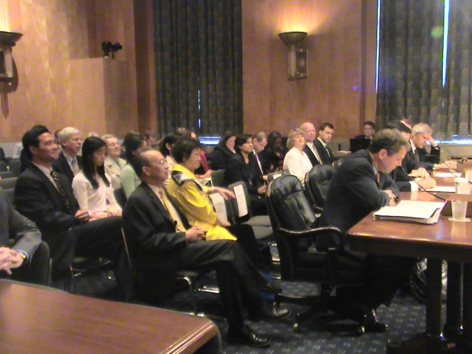 Nominations Hearing for Ivan K. Fong and Timothy W. Manning